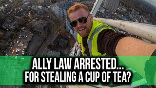 YouTuber Ally Law arrested for...stealing a cup of tea?