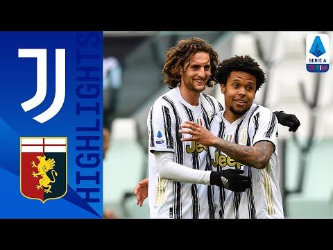 Juventus 3 1 Genoa Kulusevski Morata and McKennie All Score in Juve Win Serie A TIM