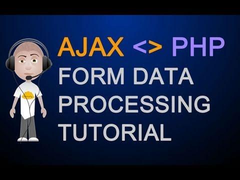 Ajax Tutorial : Post to PHP File XMLHttpRequest Object Return Data Javascript