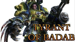 40 Facts & Lore on Lufgt Huron, the Tyrant of Badab Warhammer 40K