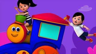 Bob The Train    Rig A Jig Jig   3d Nursery Rhymes   Baby Songs   Childrens Video