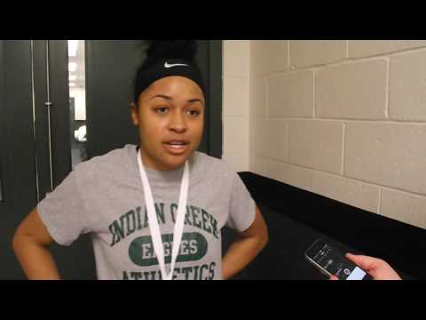 Indian Creek vs. Garrison Forest IAAM C Conference Championship Aysia Ferguson Post Game Interview