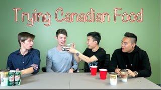 Australian Tries Canadian Food!
