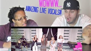 LITTLE MIX LIVE VOCALS | NO AUTOTUNE REACTION!!!