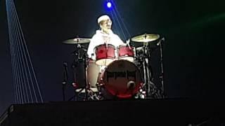 Justin Bieber - Purpose Tour - Drum Solo - Solo de Bateria -  MEO Arena, Lisbon - Lisboa 2016