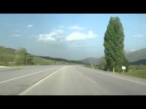 Şirin Erzincan Refahiye yolunda