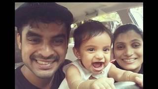 Tharangam Actor Tovino Thomas with Family