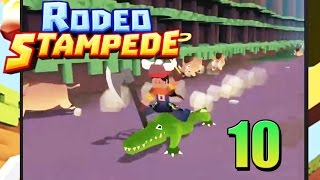 Rodeo Stampede| Gorilla's and We Got an Alligator Gameplay/commentary [10]