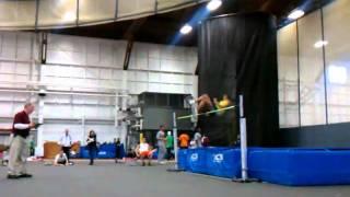 Nicholes high jump 5 feet 4 inches.3gp