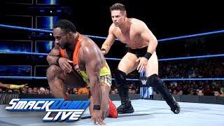 Big E vs. The Miz: SmackDown LIVE, May 22, 2018