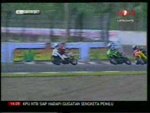 INDOPRIX 2009 SERI 2 IP125cc RACE 2 PART 2