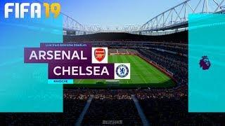 FIFA 19 - Arsenal vs. Chelsea @ Emirates Stadium