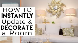 Interior Design | White Home Decor | Decorating & Painting Tips