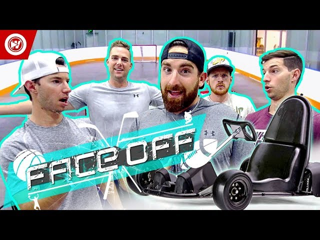 Dude Perfect Go Kart Soccer | FACE OFF