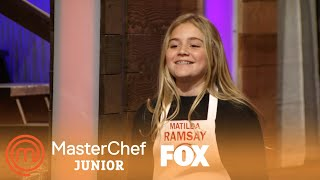 Matilda Ramsay Judges | Season 3 Ep. 5 | MASTERCHEF JUNIOR