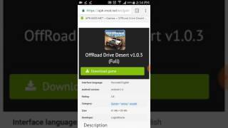 Offroad Drive desert (How to download for free)