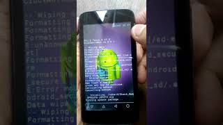 Cara Flash Nexian Android One