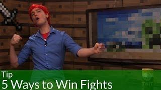 Tip: 5 Ways to Win Fights in Minecraft
