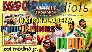 Philippines vs India - National Arena - Mobile Legends: Bang Bang