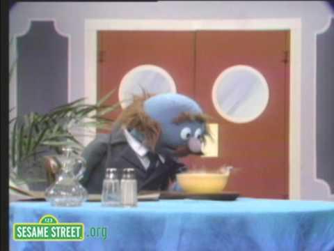 Sesame Street Grover And Alphabet Soup