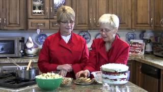 Berry Trifle with Lemon Cream