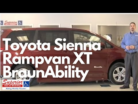 Superior Van & Mobility 2011 Toyota Sienna Rampvan with XT Conversion by Braun