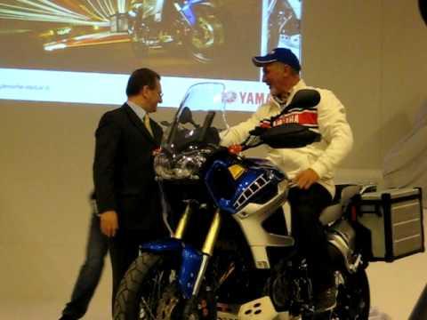 La presentazione della Yamaha Super Ténéré 1200