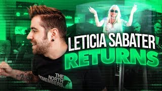 LETICIA SABATER RETURNS