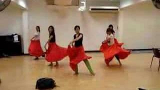 Big Red Skirt Dance 20080217