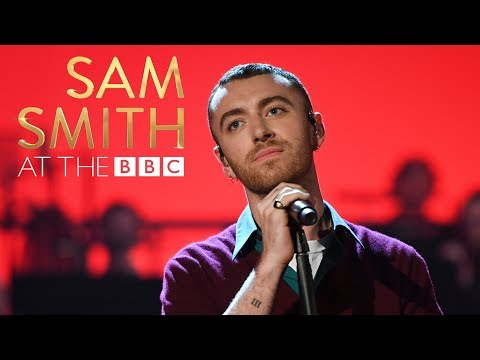 Sam Smith Writing s on the Wall At The BBC
