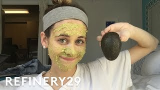 5 Days Of A No Makeup Challenge | Try Living With Lucie | Refinery29