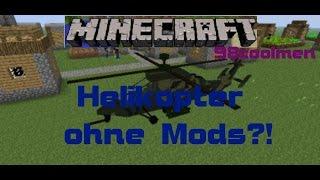 Minecraft Helikopter ohne Mods!! 98coolmen