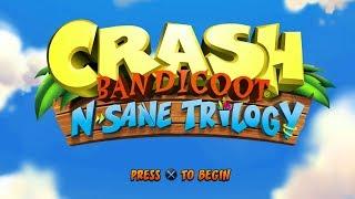 CRASH BANDICOOT N. SANE TRILOGY Remastered PS4 Gameplay