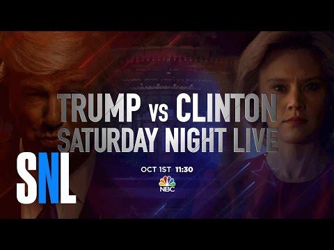 Trump vs. Clinton SNL