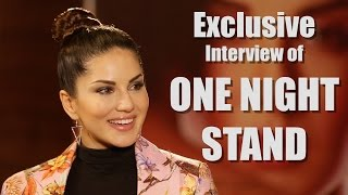 Exclusive! Interview With Sunny Leone For The Film One Night Stand | Bookmybollywood