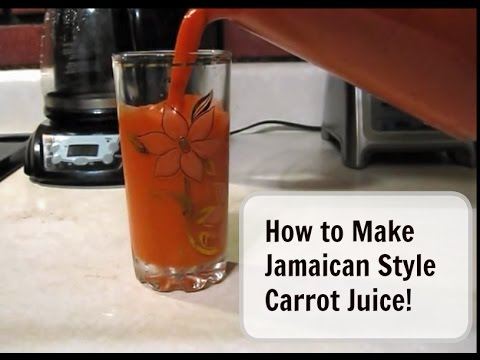 HOW I MAKE CARROT JUICE
