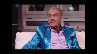 صحنه چاپلوسی مهران مدیری برای جمشید هزارپا