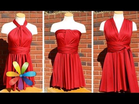 Платья своими руками из ткани