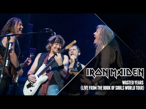 Xxx Mp4 Iron Maiden Wasted Years Live From The Book Of Souls World Tour 3gp Sex