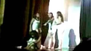 Performance de Teatro MMart (Canción Alegría)
