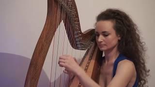 "Kolęda ""Cicha noc""  na harfę celtycką"
