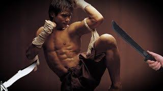 Muay Thai Self defense against knife and machete attacks