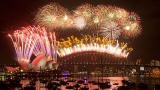 Watch Sydney New Year fireworks in full