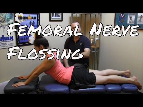 Get rid of weakness or numbness in your leg or knee by flossing the Femoral Nerve