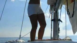 Liveaboard Solo Sailor Girl Cruising Adventures: Calm, Stormy & Great!