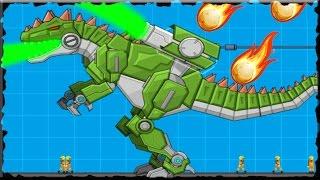 Robot Dinosaur War Giganotosaurus Full Game Walkthrough (All Levels)
