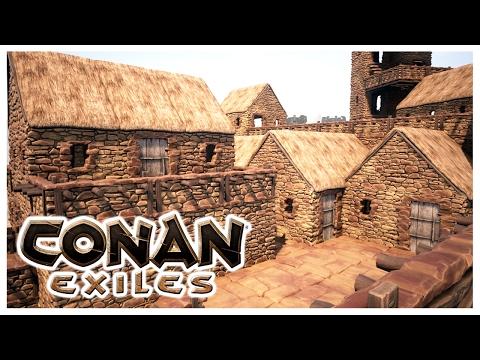 CONAN EXILES - BUILDING THE VILLAGE