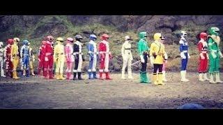 all power rangers team up morphs (dublado em português-brasil)