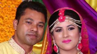 Liton and Vanessa Gaye Holud Party