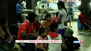 Night life at Chennai Koyambedu bus terminus | Neengal Urangum Podhu | News7 Tamil